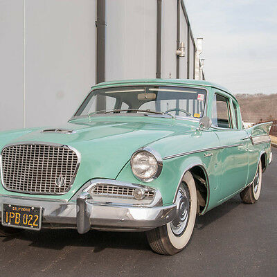 1961 Other Makes Hawk Coupe Hawk 1961 Studebaker Hawk Coupe, Highly desirable Jade Green on Forest Green