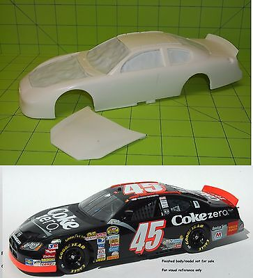 NASCAR RESIN 2007 DODGE CHARGER NASCAR STOCK CAR BODY ONLY - 1/24 scale