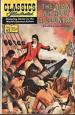 Classics Illustrated No.63 / 1964 The Man without a Country