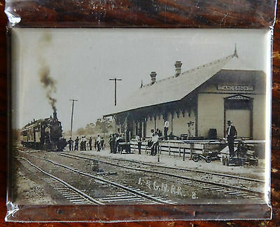 "2x3"" Steam Train Historical Photo MAGNET I&GN Railroad ANDERSON TX"