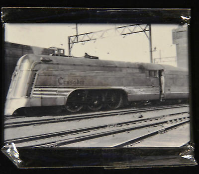 "2x3"" Steam Train Historical Photo MAGNET Reading Railroad CRUSADER Streamliner"