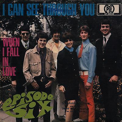 "EPISODE SIX: I Can See Through You (´67 / scarce orig. German 7"" / DEEP PURPLE)"