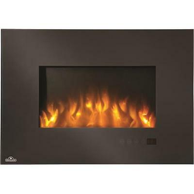 Hardware Express EFL32H Electric Fireplace With Decorative Clear Glass Embers