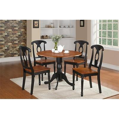 3 Piece Small Kitchen Table Set Small Table and 2 Dining Chairs