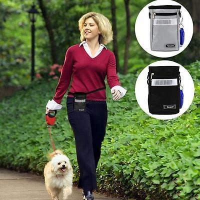 Dog Puppy Snack Obedience Agility Bait Training Food Treat Pouch Belt Bag Holder