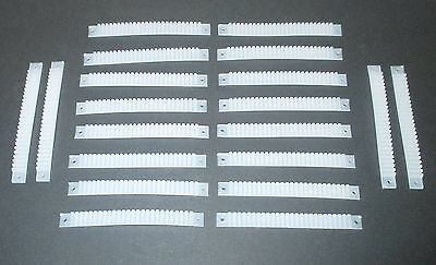 Heald 20 Piece with 25 Clamps for 0,14mm² Litz wire NEW