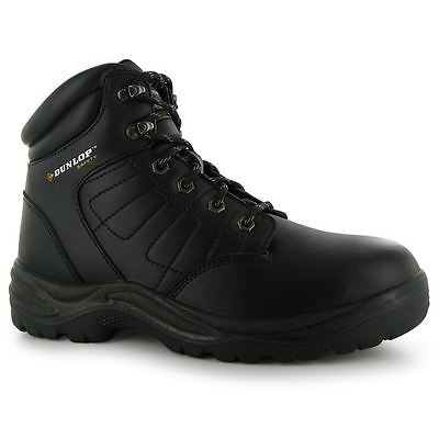 Dunlop Mens Dakota Safety Boots Lace Up Shock Absorbing Steel Toe Cap Shoes