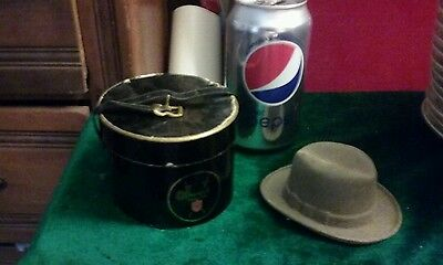 Sample Miniature Hat Box A / Mans FEDORA Hat