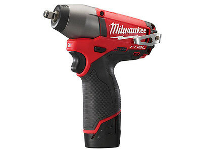 "Milwaukee M12CIW38-202C 12v Fuel 3/8"" Impact Wrench 2 x 2.0Ah Li-ion"