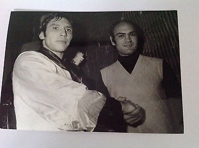 BOXE : JC BOUTTIER - Max COHEN    - Photo de presse Originale Format 18x13cm