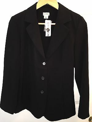 Nwt Motherhood Maternity Suit Coat S Small Black Button Up New Dress