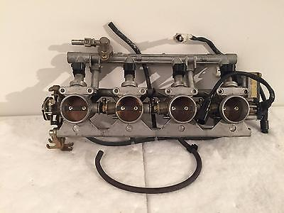 2001 - 2003 Gsxr600 Oem Throttle Body Bodies Fuel Injection Tps Injector 600 02