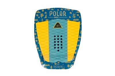 Poler Surf Traction Pad Blue Steel Tail Pad