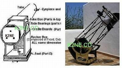 Build Your Own Telescope - New Release!! - Plans On Cd - K2Ne Web Store