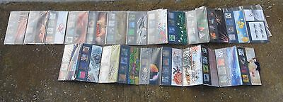 Collection of 25 Mint Royal Mail Millennium Stamp Collection-Boxed