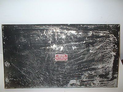 Collins  Art-13  Mt-283  Aircraft Radio Transmitter Top Lid Cover Panel