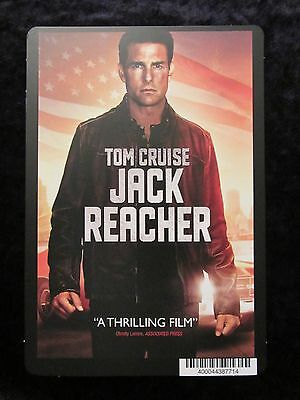JACK REACHER movie backer card TOM CRUISE (this is not a movie)