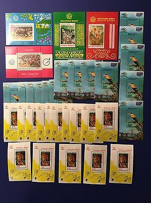 INDONESIA Nice Lot MNH STAMPS Souvenir Sheets Lot# SS1