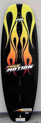 FREE MOTION Drive Rockered Wakeboard 135 CM No Bindings