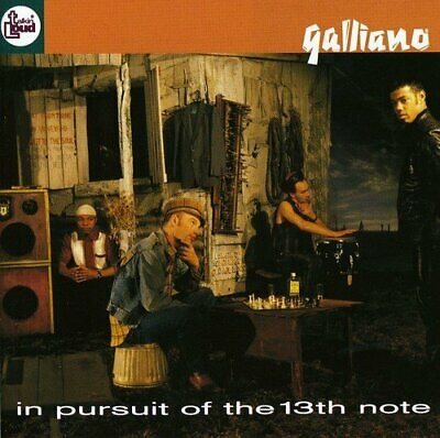 Galliano - In Pursuit Of The 13th Note - Galliano CD E7VG The Cheap Fast Free