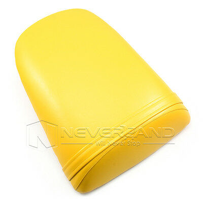 Yellow Passenger Rear Seat Cover Pillion For 2000-2001 Honda CBR900RR 929 00 01