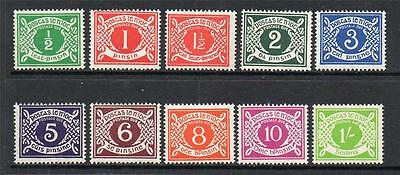 Ireland Mnh D5-D14 Postage Dues Set Of 10