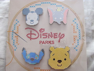 Disney Trading Pins 113972 Cross Stitch Booster Pack