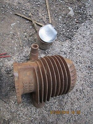 villiers barrel combined head and new  piston