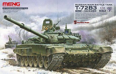 Meng-Model Ts-028 - 1/35 Russian Main Battle Tank T-72B3 - Neu
