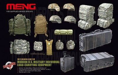 Meng-Model Sps-015 - 1/35 Modern Us Military Indiv. Load-Carrying Equipment
