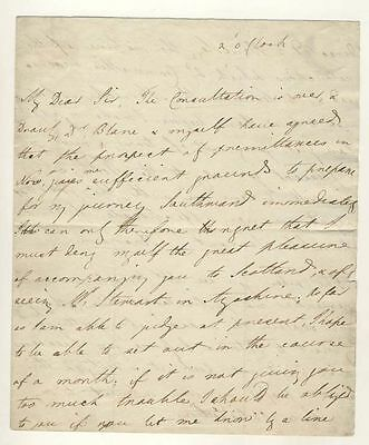 Letter from Lord Ancram to Colonel Ross at Lord Cornwallis's