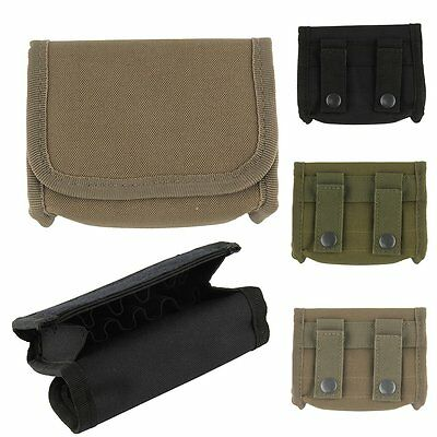 Outdoor Tactical Molle Shotgun Ammo Reload Pouch Holster Hunting Magazine Bag