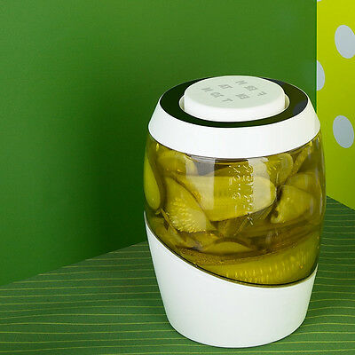 Sauerkraut Fermentation Crock Pickles Kimchi Brine Pickle 2 Liter easy to use