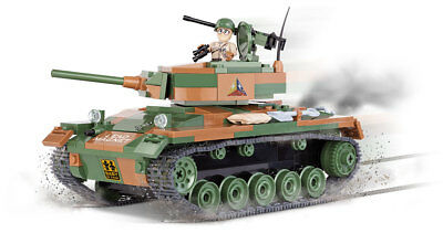 Cobi 3013 - World Of Tanks - Wwii Us M24 Chaffee - Neu