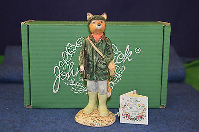 Lovely John Beswick English Country Huntsman Fox ECF 1 Figurine RD4810