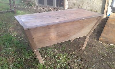 Antique French Ancient Large Coffer Animal Grain Feed Chest As Found.