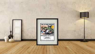 Stone Roses - She Bangs The Drums Framed Print