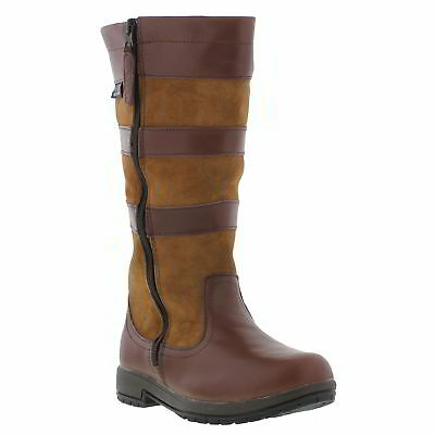 Kanyon Sapling Kids Waterproof Leather Country Boots  Size UK 11-5