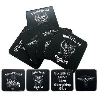 Motorhead - Drink 4 piece Drink Coaster Set - New & Official In Pack