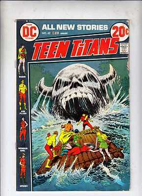 Teen Titans 42 strict VG/FN 1972 Robin 1,000s more DC books @ Kermitspad
