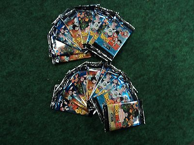 Dragonball Z DBZ CCG 20 Movie Collection Booster Packs NEW