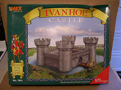 Imex 1:72 Scale Ivanhoe Castle Medieval Stone Castle Series Plastic Assembly Kit