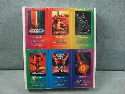 Star Trek Movie Set I-VI Voyage Home & More Skybox Cards Sets Factory Sealed