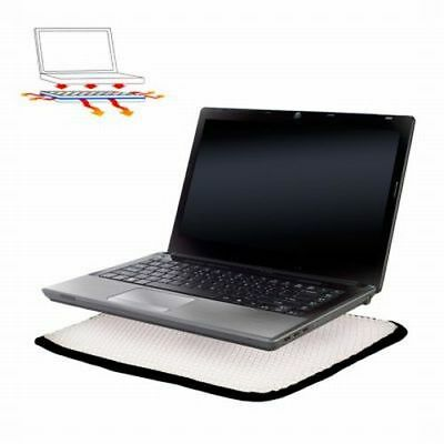 """Notebook Buffer Laptop Cooling Pad Comfort Cushion Chill Mat 15"""" Heat Protection"""