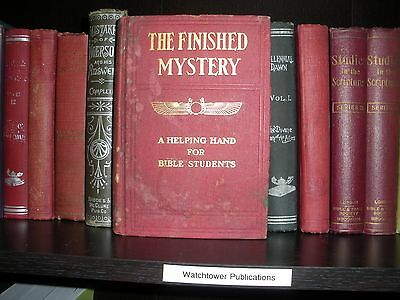 """""""The Finished mystery"""" Studies in the Scriptures Vol. 7 Watchtower original IBSA"""