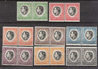 South West Africa 1937 Coronation George VI MNH (SC# 125-132)