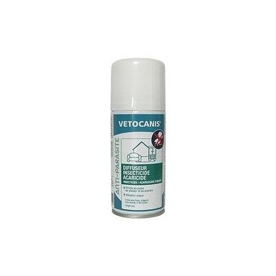 VETOCANIS Diffuseur insecticide acaricide - Pour l'habitat PIPETTE ANTIPARASITAI