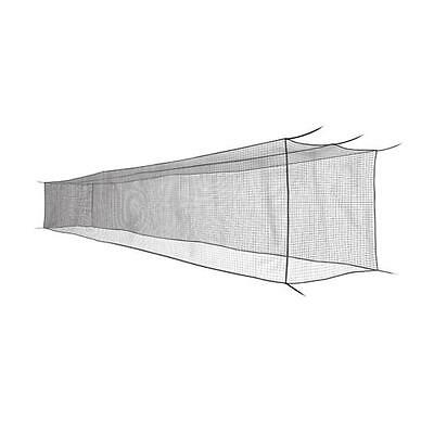 CLOSEOUT - SAVE $100 - 55' x 14' x 12' #21 HDPE Batting Cage Net