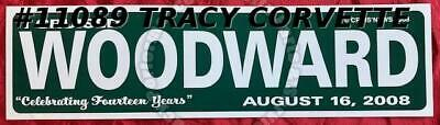 "2014 I Cruised Gratiot Avenue I Cruised Woodward Aug 15, 2015 12"" x 3 1/2"" Signs"