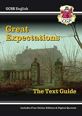 Grade 9-1 GCSE English Text Guide - Great Expectations... by CGP Books Paperback